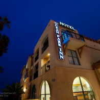 An exterior photo of the Ocean Park Inn in San Diego.