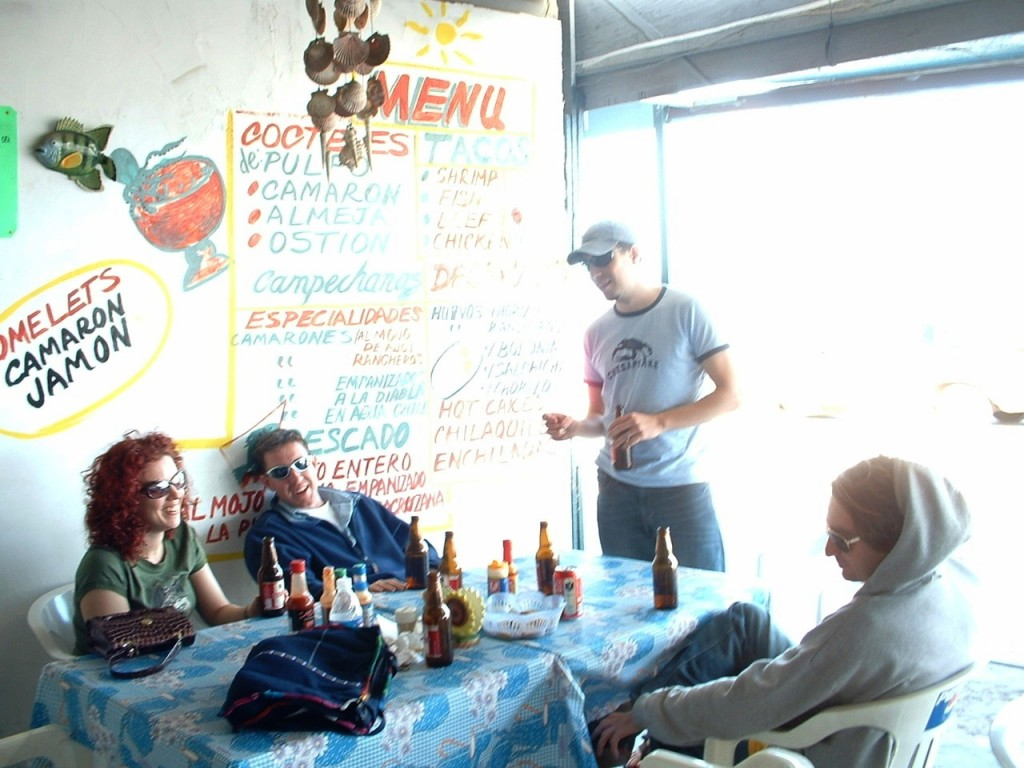 Breakfast in San Felipe.