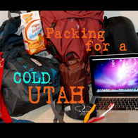 Headed to Utah's COLD wonderland!