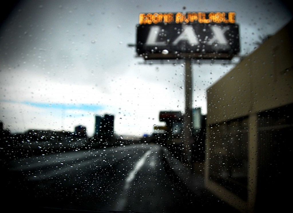 Rainy Day Las Vegas billboard.