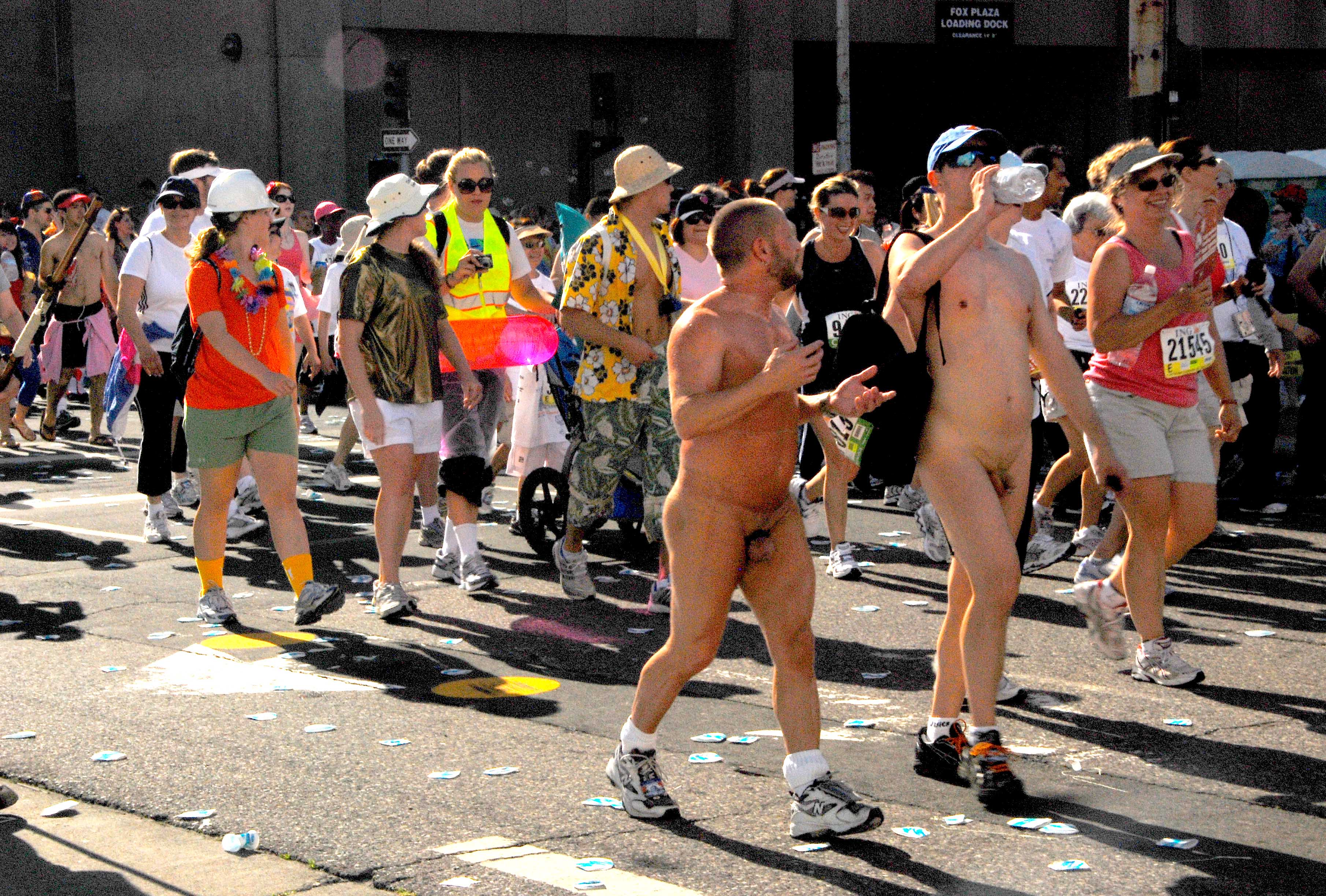 nakedness abounds at Bay to Breakers smaller