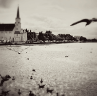 Frikirkjan Church on Tjornin lake in Reykjavik, Iceland – Somewhere In Time
