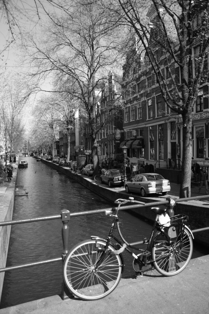 A bicycle in Amsterdam.