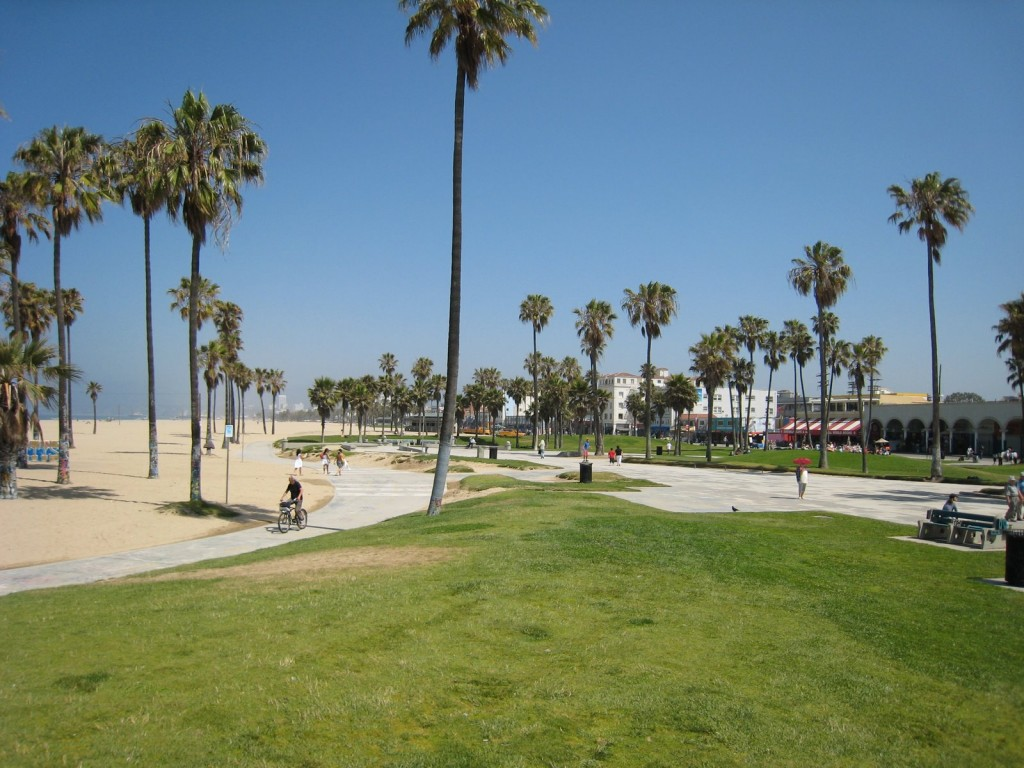 Venice Beach in Los, Angeles, USA.