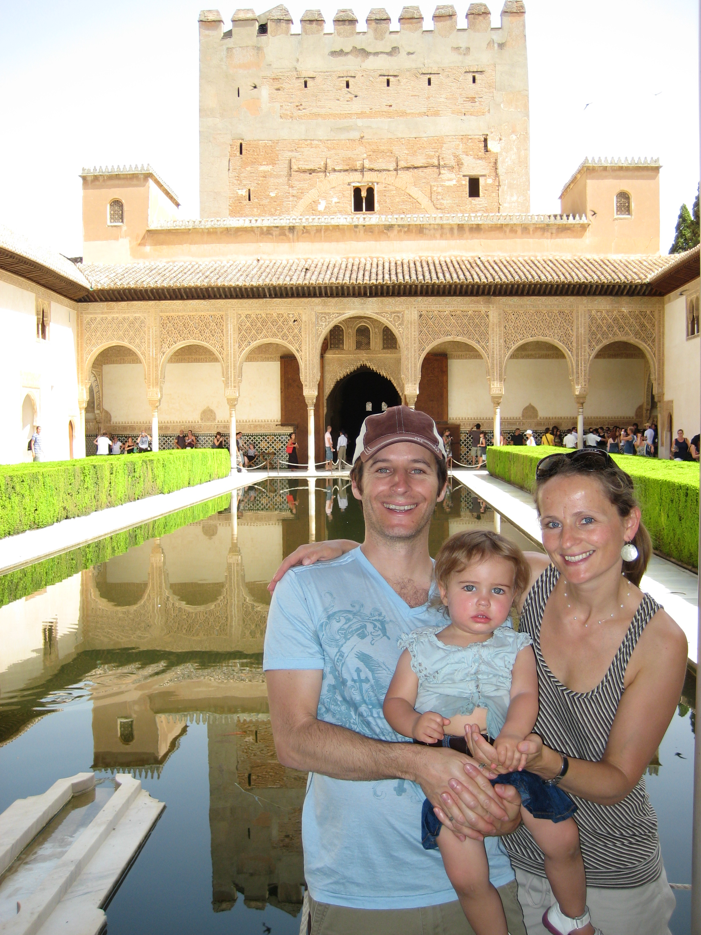 Gogobot CEO Travis Katz with family in Spain.