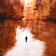 Sarah-hiking-Wall-Street-in-Navajo-Loop-Trail-in-Bryce-Canyon-National-Park-Utah-smallerforBnB