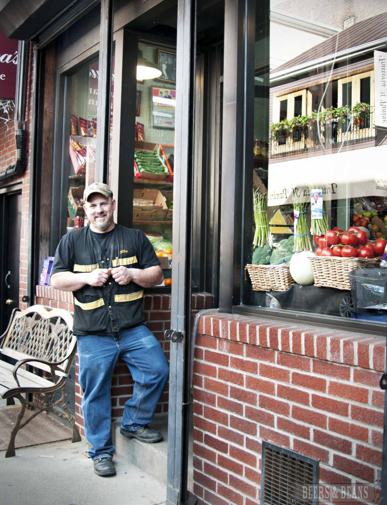 Arlo in front of his shop smallerbnb 786x1024 A Killer Culinary Tour of Bostons North End (aka Little Italy)   Part 1