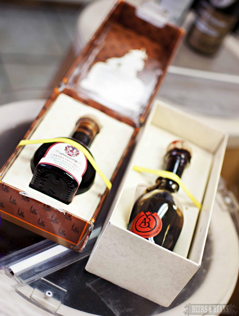 True Balsamic Vinegar Bottles smallerforbnb1 774x1024 13 Italian Foodie Tips I Learned on a Culinary Tour of Bostons North End (Plus 1!)