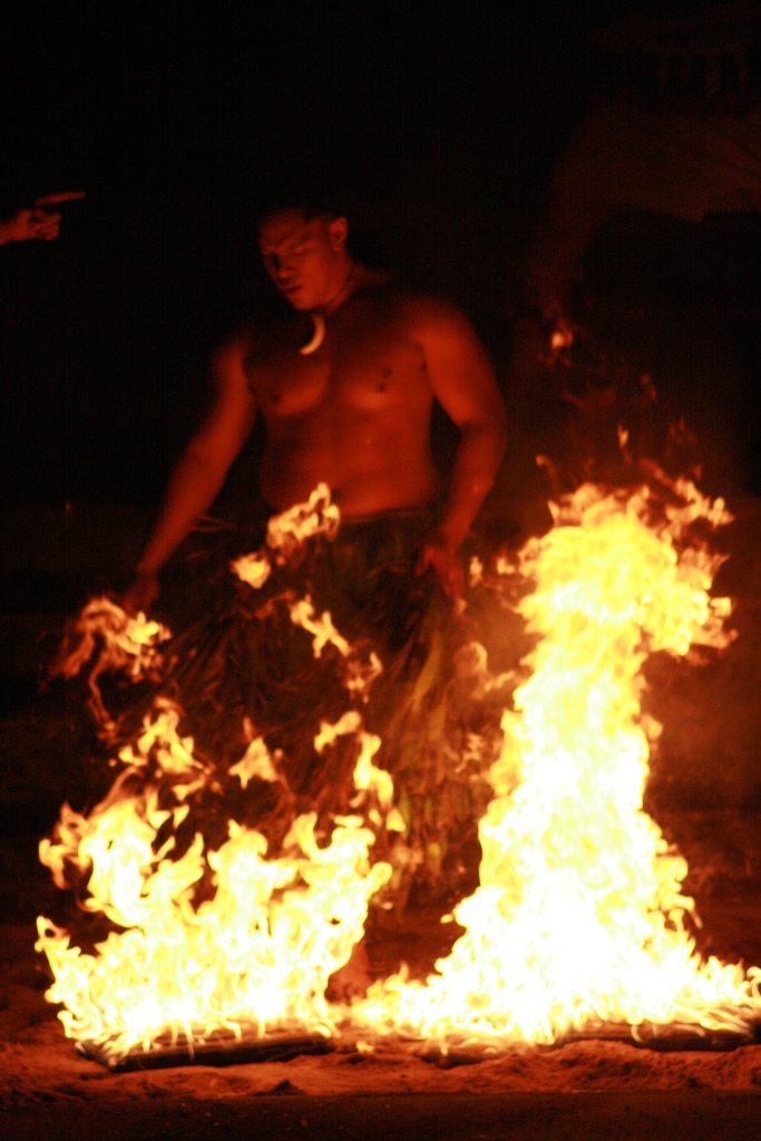 fire walker by quinn.anya  Surreal Experiences in Fiji