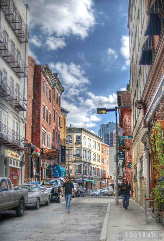 streets of little italy boston hdr smallerforbnb 699x1024 A Killer Culinary Tour of Bostons North End (aka Little Italy)   Part 1