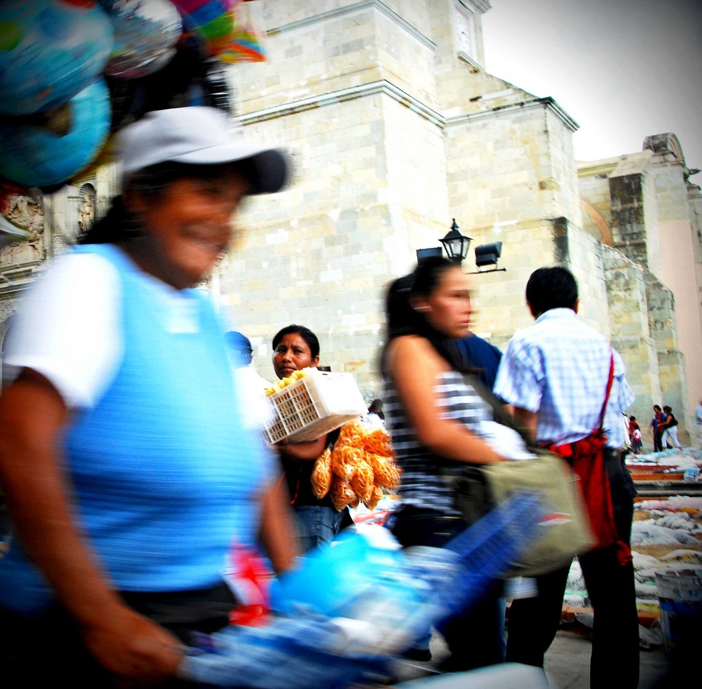 Photo taken in Oaxaca, Mexico.