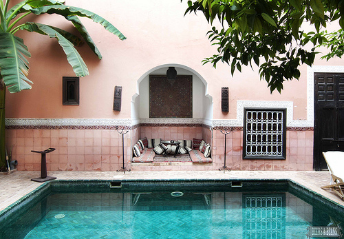 Riad in Marrakech Morocco
