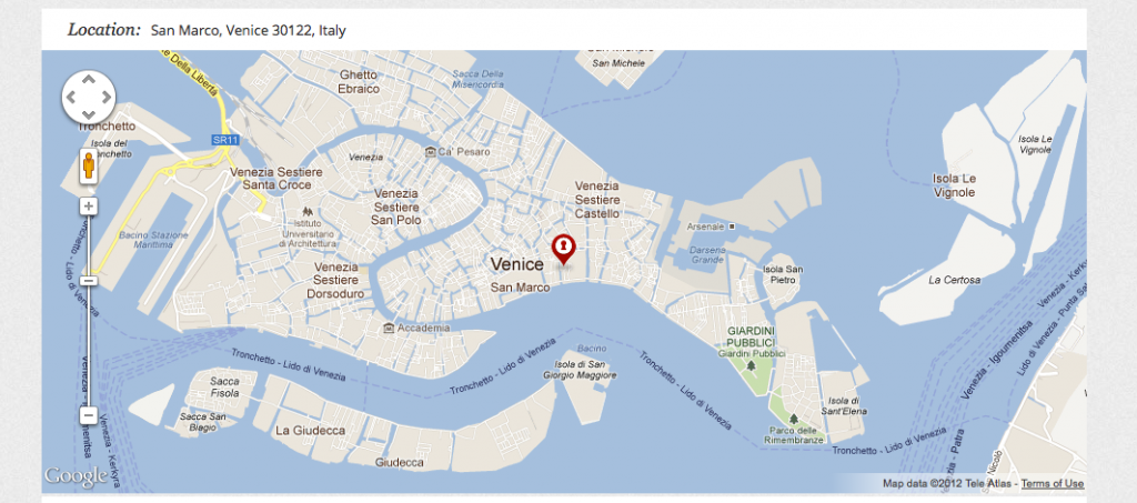 Beers and Beans – Tourist Map of Venice