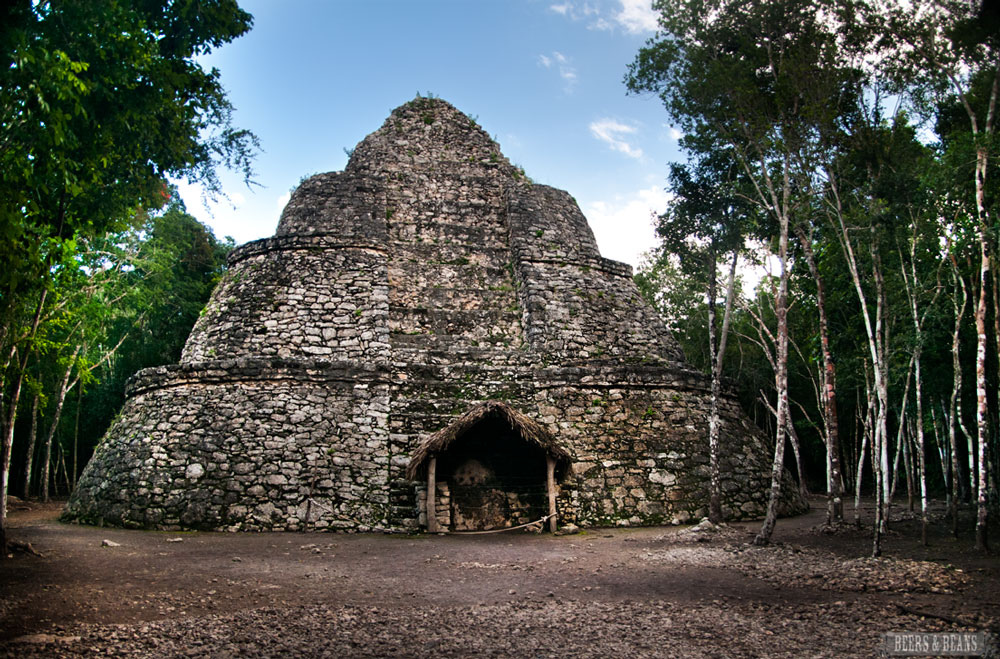 Fancy yourself as Mr. Jones? Check out the Coba ruins RivieraMaya