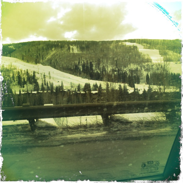 A Colorado ski town in Eagle near Vail.