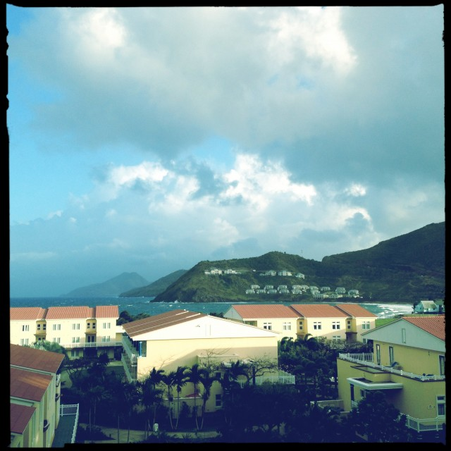 St. Kitts Marriott a view from a room.