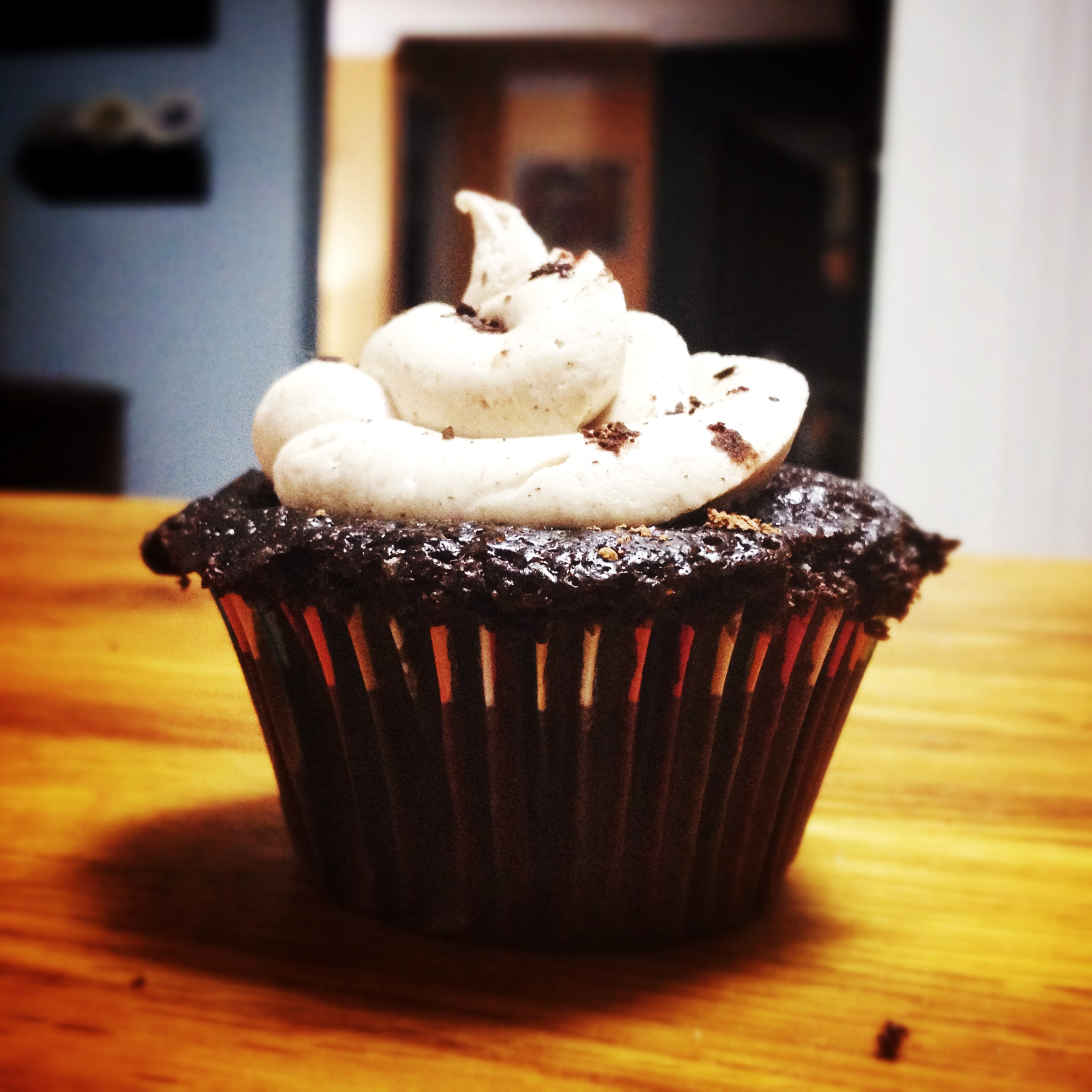 Mexican hot chocolate cupcake!