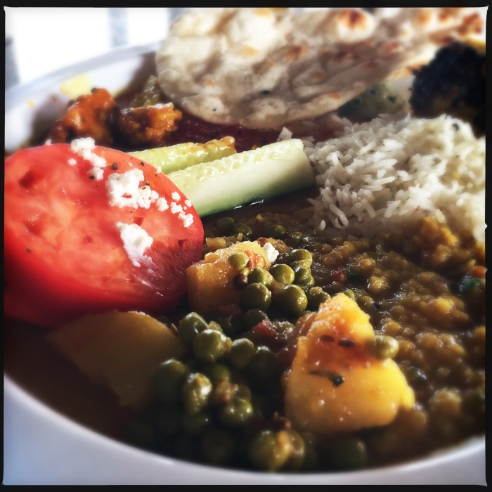 Indian cuisine from the Tandoori Grill on Carnival Dream.