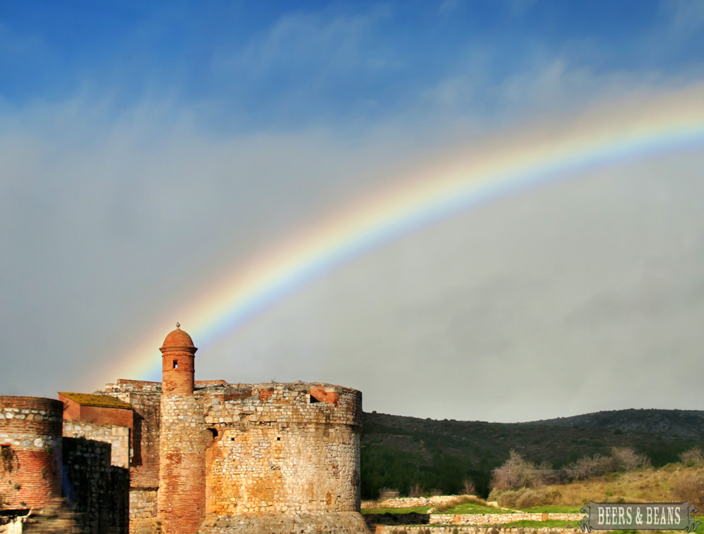 Rainbows over Spain with Eurail.com.