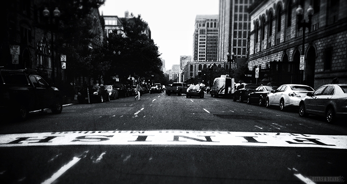 Finish Line for Boston Marathon