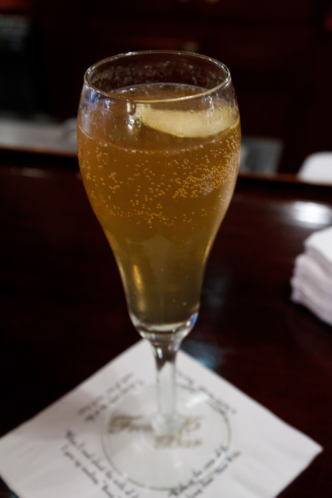 The French 75, maybe the best summer cocktail recipe ever.