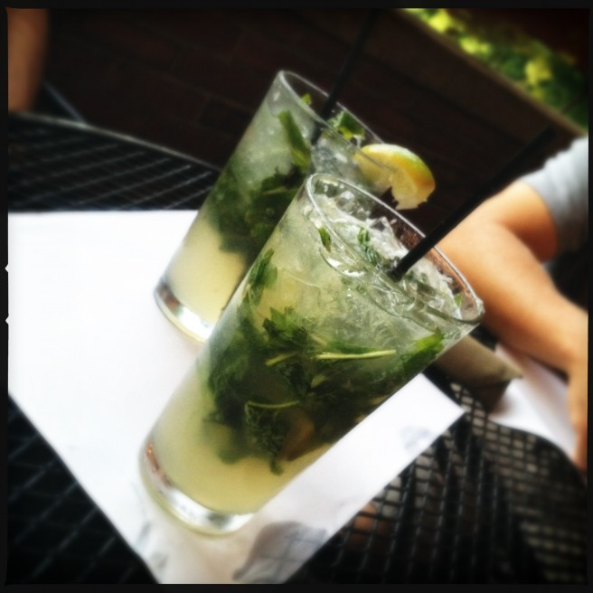 Basil Mojito at the Goat in Put-in-Bay