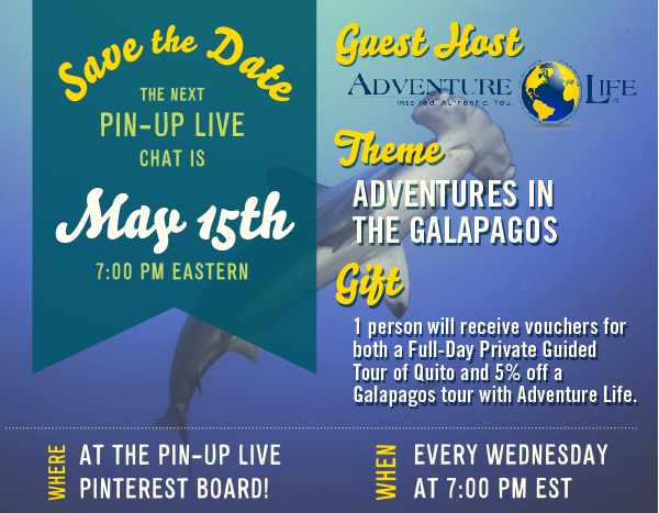 Get 5% Off An @AdventureLifer Galapagos Tour Tonight on #PinUpLive