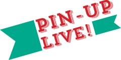 Pin Up Live by Beers and Beans and Earmark Invitations
