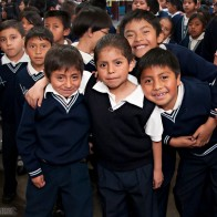 School Kids in Guatemala