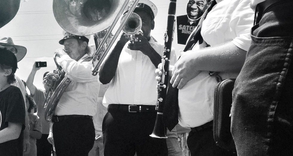 Storyville Stompers Brass Band in New Orleans.