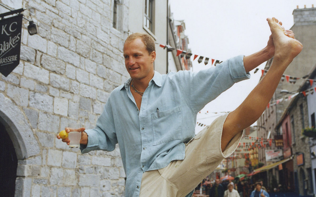Woody Harrelson at the Galway Film Festival in Ireland.