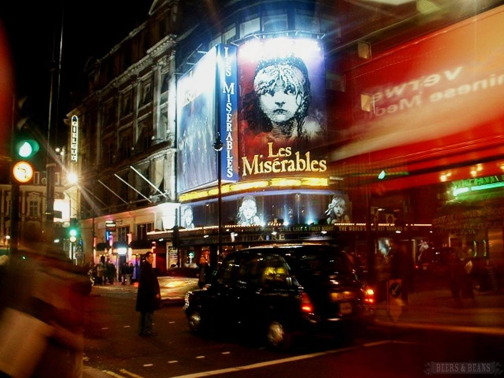London Theater District.