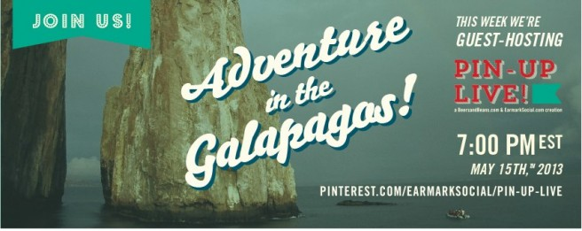 Adventure Life is talking about visiting the Galapagos Islands on Pin-Up Live.