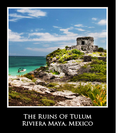 ruins of tulum riviera maya icon Photo Essays