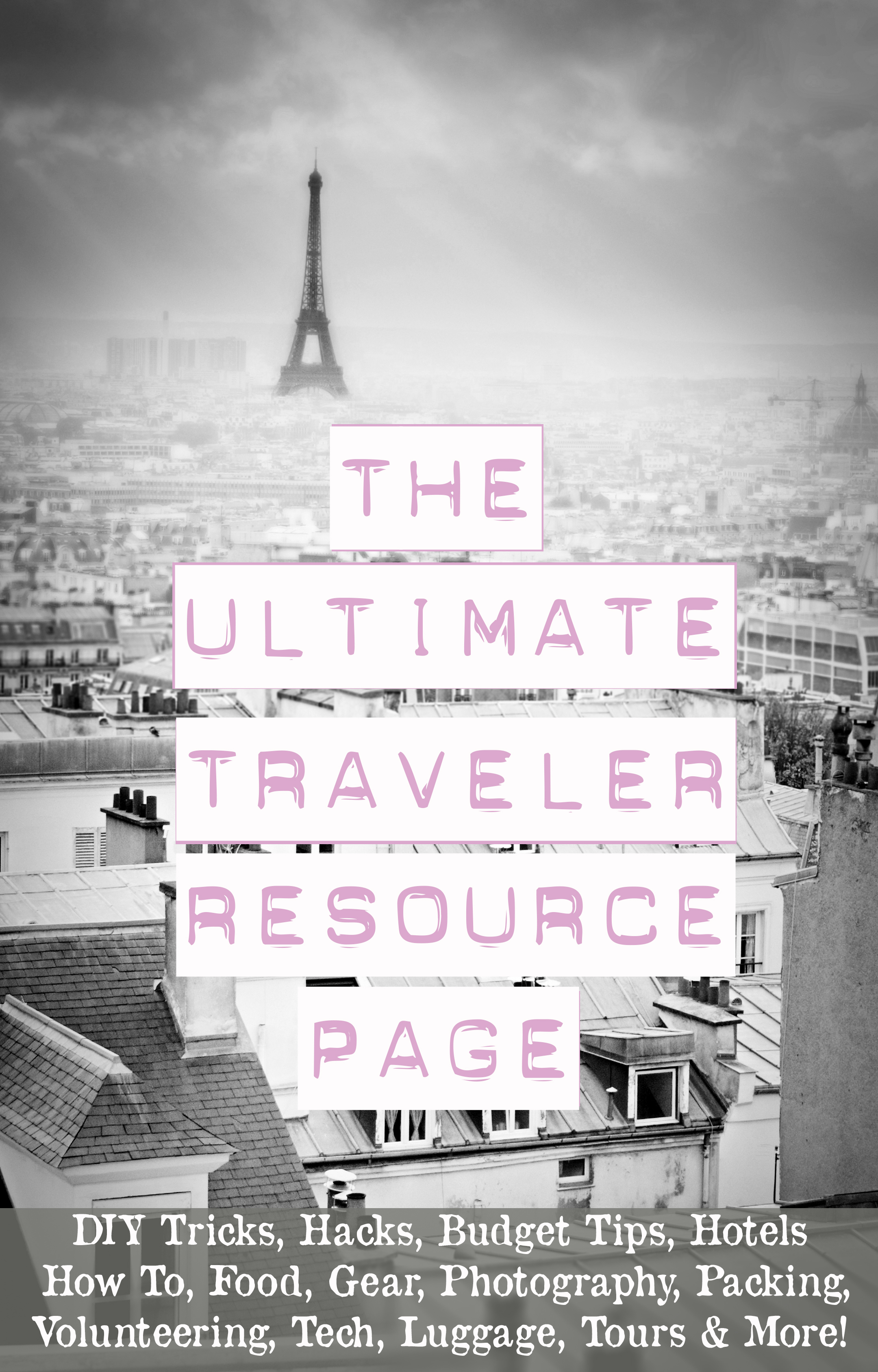 travel resource page